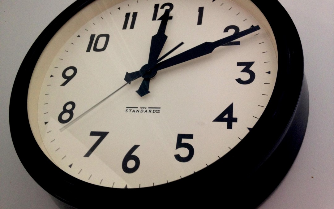 Getting Control of Your Time (Part 1)
